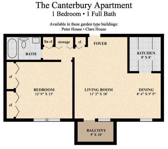 ... The Canterbury Apartment ...